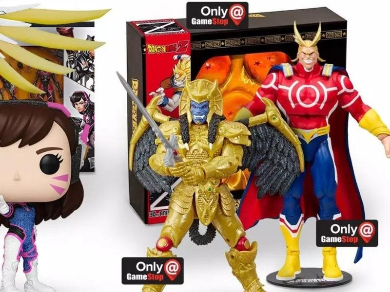 Gamestop Is Basically Giving Away Overwatch Collectibles Anime Exclusives And More News Break
