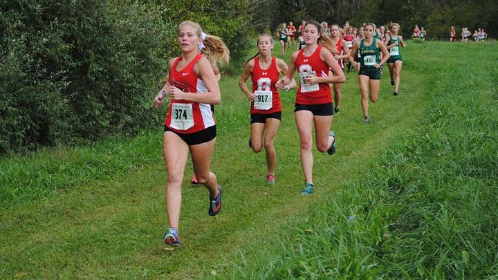 Cover for Anderson Leads Way For Women's Cross Country at Lock Haven