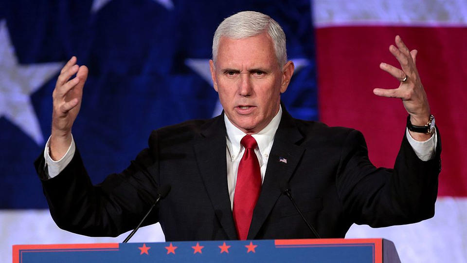 """Picture for Mike Pence Heckled, Called a """"Traitor"""" at Faith and Freedom Event in Orlando, Florida"""