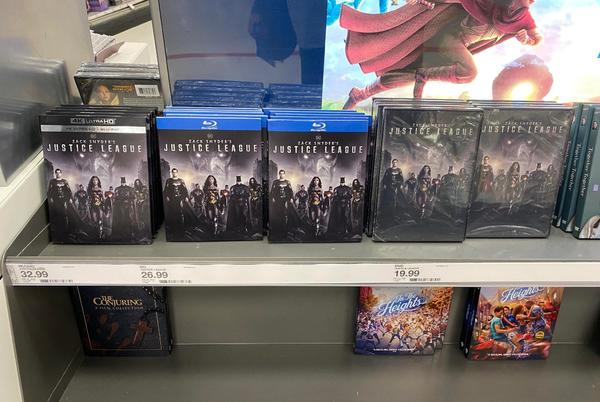 Picture for Zack Snyder's Justice League Absolutely Dominated Its First Week of Physical Sales