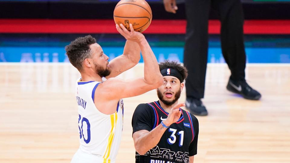 Picture for Sixers' Seth Curry shooting his way out of the shadow of brother Steph