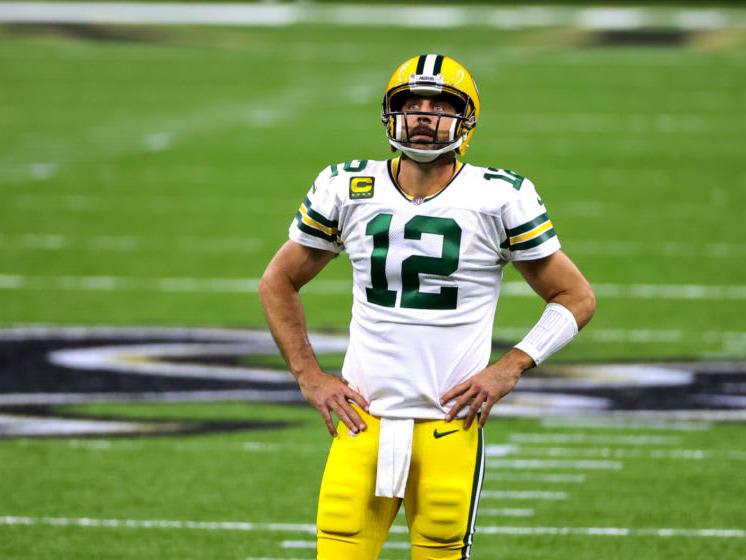 Aaron Rodgers Is Getting Meme D For Flexing After Packers Touchdown News Break