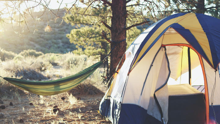 Cover for A different camping experience in Pipestone