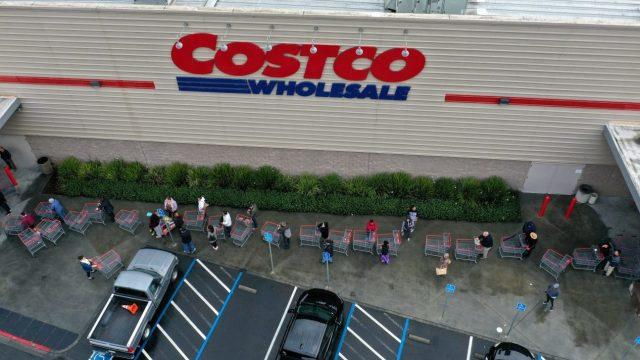 Cover for Pandemic shortages return: Costco limiting purchases