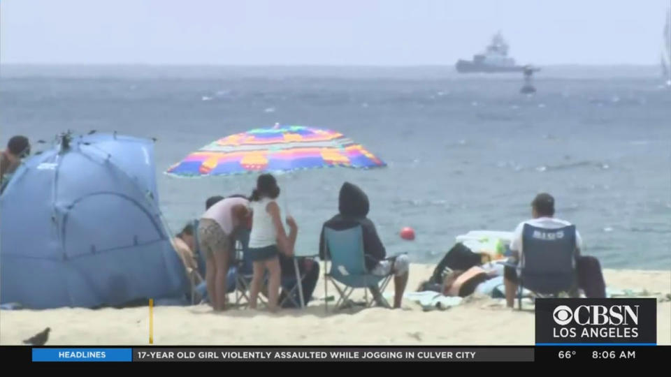 Picture for Public Health Officials Lift Warnings For Certain LA County Beaches
