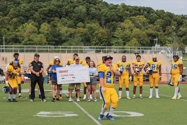 Picture for Hocking College footballer makes history several times over