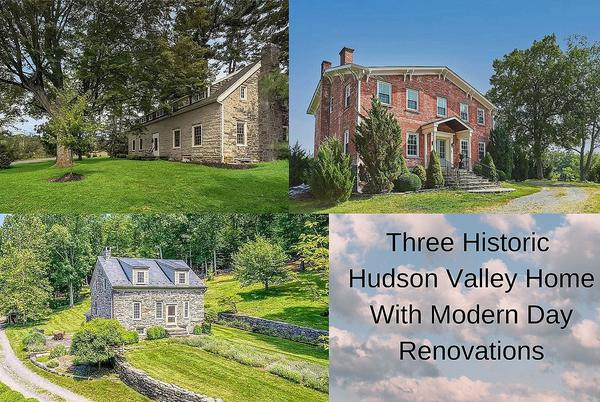 Picture for 3 Old Historic Hudson Valley Homes for Sale All with Every Modern Touch