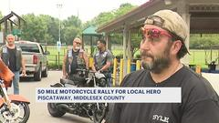 Cover for 50-mile motorcycle rally benefiting NJ Army Reservist with cancer hits Piscataway today
