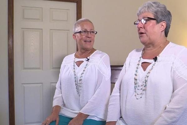 Picture for Indiana identical twins, always in sync, facing cancer battles together