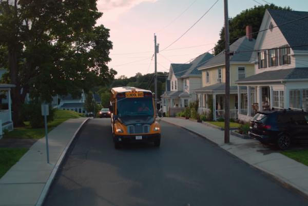 Picture for Massachusetts school bus shaves peak demand in first V2G program for district