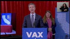 Cover for Gov. Newsom to lift pandemic executive orders