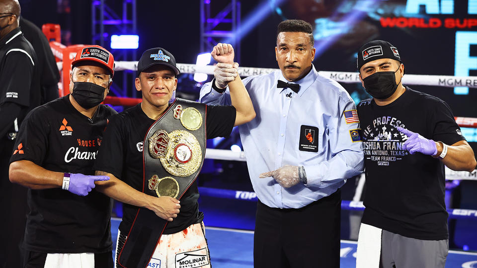 "Joshua Franco Wins First World Title, ""Pitufo"" Diaz Wins 