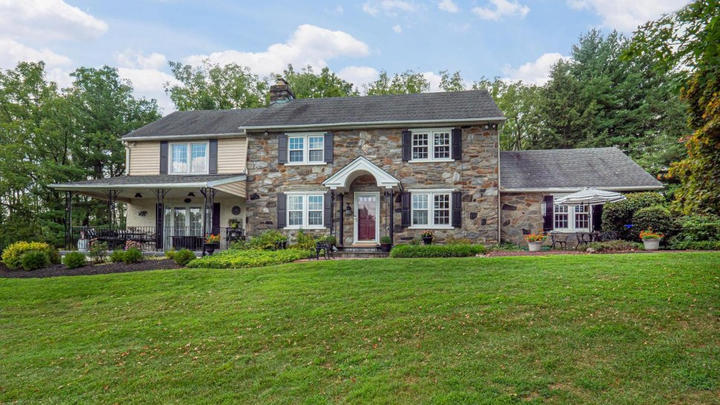 Cover for Malvern Bank House of the Week: Charming Stone Farmhouse in Media