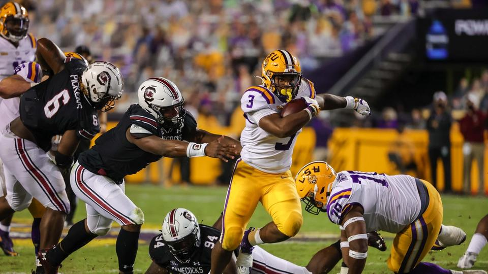 """LSU Football Offensive Line the Unsung """"MVP"""" in Win Over ..."""