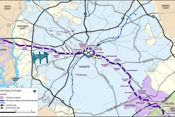 Picture for Settle In For A Longer Charlotte Transit Push
