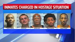 Cover for Murder charges filed against 5 inmates allegedly involved in March Oklahoma County Jail hostage situation