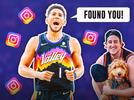 Picture for Devin Booker's IG response to Suns fan from viral Nuggets fight video