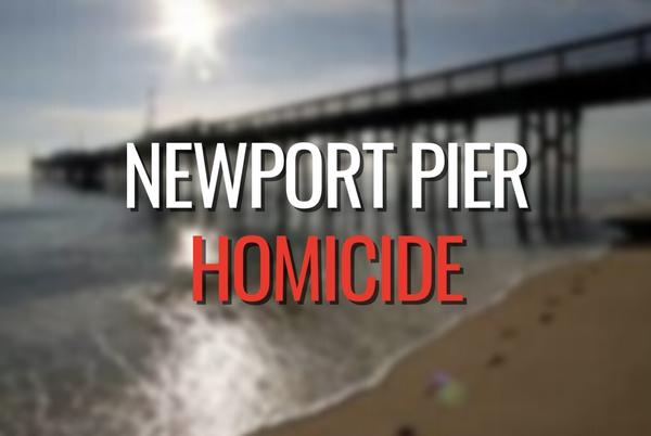 Picture for Suspect arrested in death of a man at Newport Pier