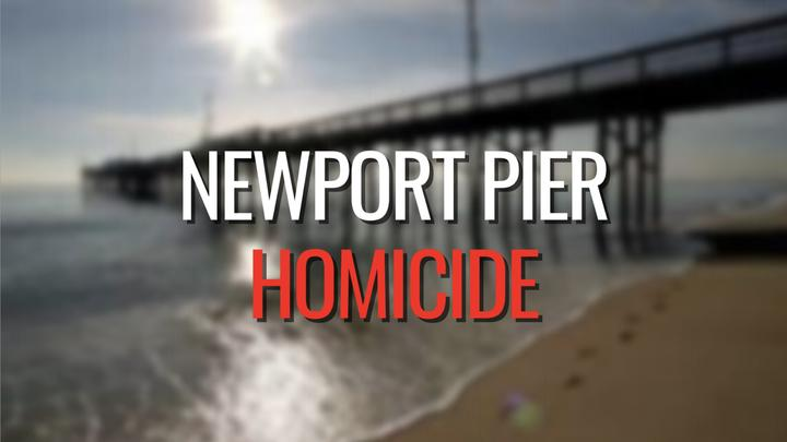 Cover for Suspect arrested in death of a man at Newport Pier