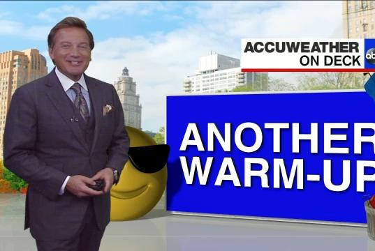 Picture for AccuWeather: Warmer sunshine