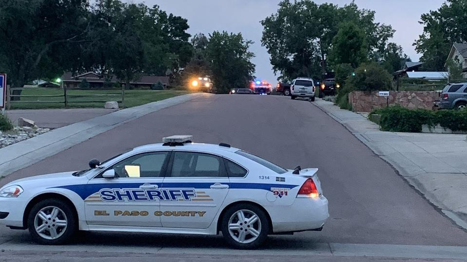Picture for El Paso County Sheriff's Office: suspect barricades self in home