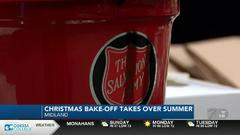 Cover for Salvation Army brings Christmas in July with a bake-off