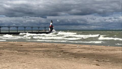 Cover for Boyfriend drowns after saving girlfriend at Northwest Indiana beach
