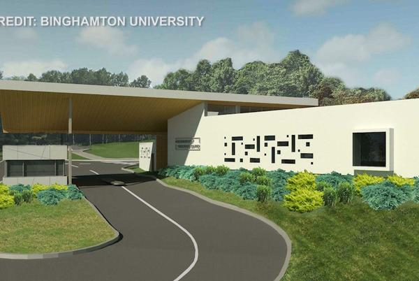 Picture for Binghamton University To Build $2.5 Million Welcome Center After Alumnus Gift
