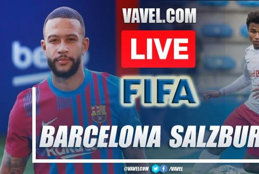 Picture for Goals and Highlights: Red Bull Salzburgo 2-1 Barcelona in Friendly Game 2021