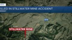 Cover for Officials release names of Stillwater Mine workers killed in accident