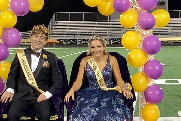 Picture for Muscatine High School crowns this year's Homecoming King and Queen