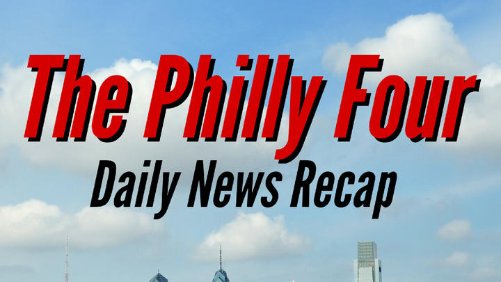 Cover for The Philly Four: Judges hear school mask mandate arguments, only 1 in 10 cops show proof of vaccination