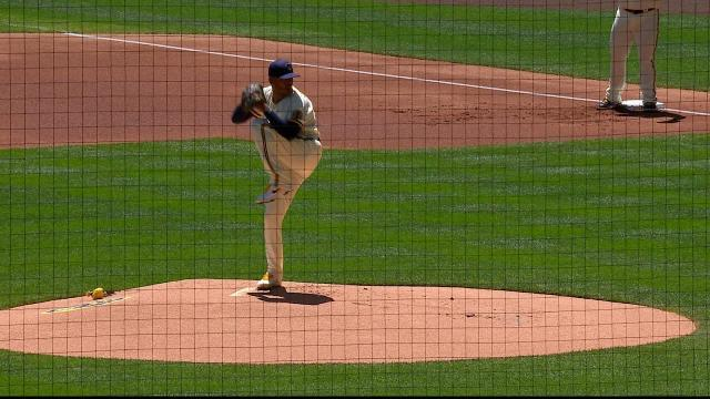 Picture for Milwaukee Brewers   Freddy Peralta earns six K's