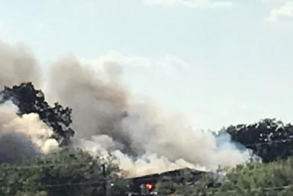 Picture for House Burns in Brown County
