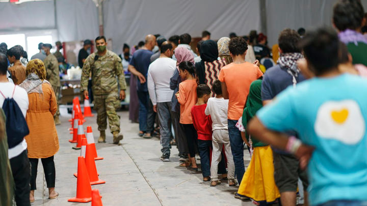 Cover for 37,000 Afghan refugees will arrive in every U.S. state except four