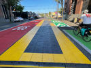 Picture for PBOT unveils new bus platform on SE Hawthorne and 6th