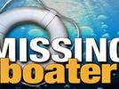 Picture for Crews looking for missing boater on Suwannee River