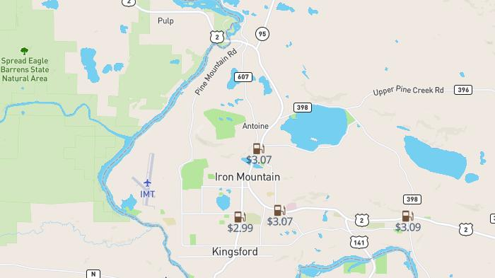 Picture for Don't overpay for gas in Iron Mountain: Analysis shows most expensive station