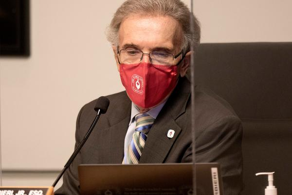 Picture for School Board Chairman: Mask mandate makes sense; incivility does not. | Commentary