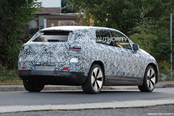 Picture for 2023 Mercedes-Benz EQE SUV spy shots: Mid-size electric crossover spied