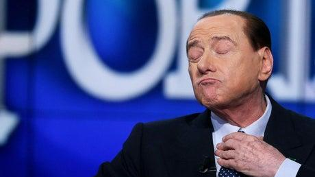 Picture for Italian prime minister Silvio Berlusconi taken back into hospital after contracting Covid last year