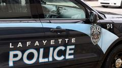 Cover for Lafayette man allegedly beats woman in front of child