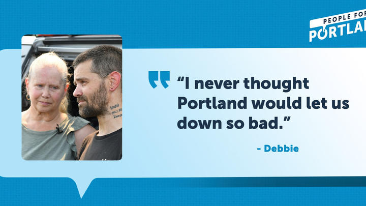 """Cover for """"People for Portland"""" is attracting some high profile supporters -- and the ire of homeless advocates"""