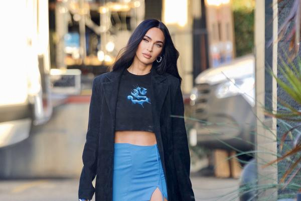 Picture for Megan Fox Attends MGK's Concert In The Ultimate Y2K Micro-Mini Skirt