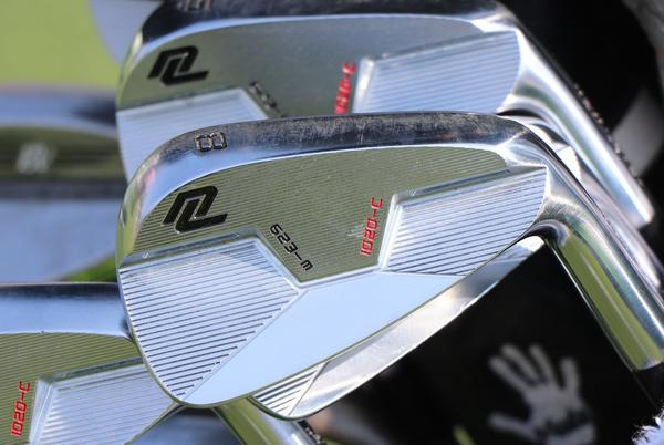 Picture for Wait, what are those? Ryan Moore is switching to irons from a relatively unknown company