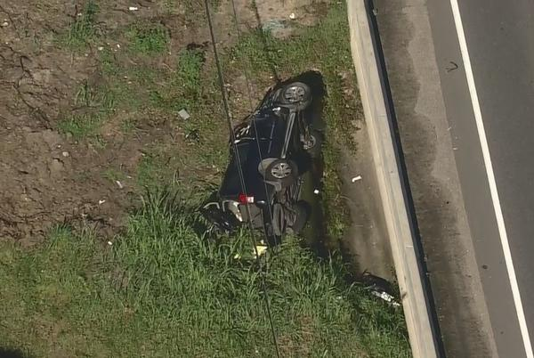 Picture for 8-year-old child, mother in critical condition after rollover crash on FM 1960