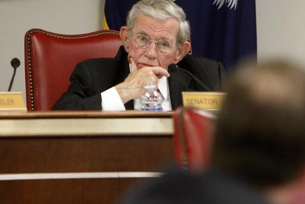 Picture for Hugh Leatherman, powerful SC lawmaker and Senate finance chairman, in hospice care