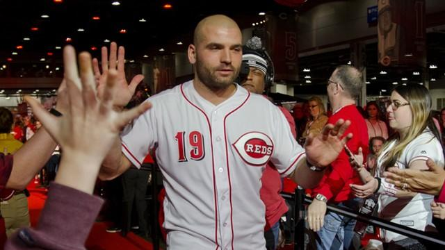 Picture for Joey Votto fan gets to meet the Reds slugger