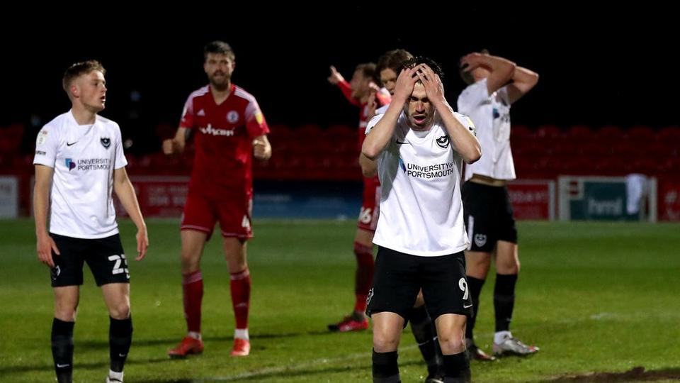 Picture for Late John Marquis own goal denies Portsmouth victory against Accrington