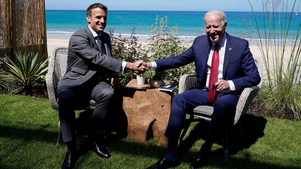 Picture for Biden to urge G-7 leaders to call out, compete with China
